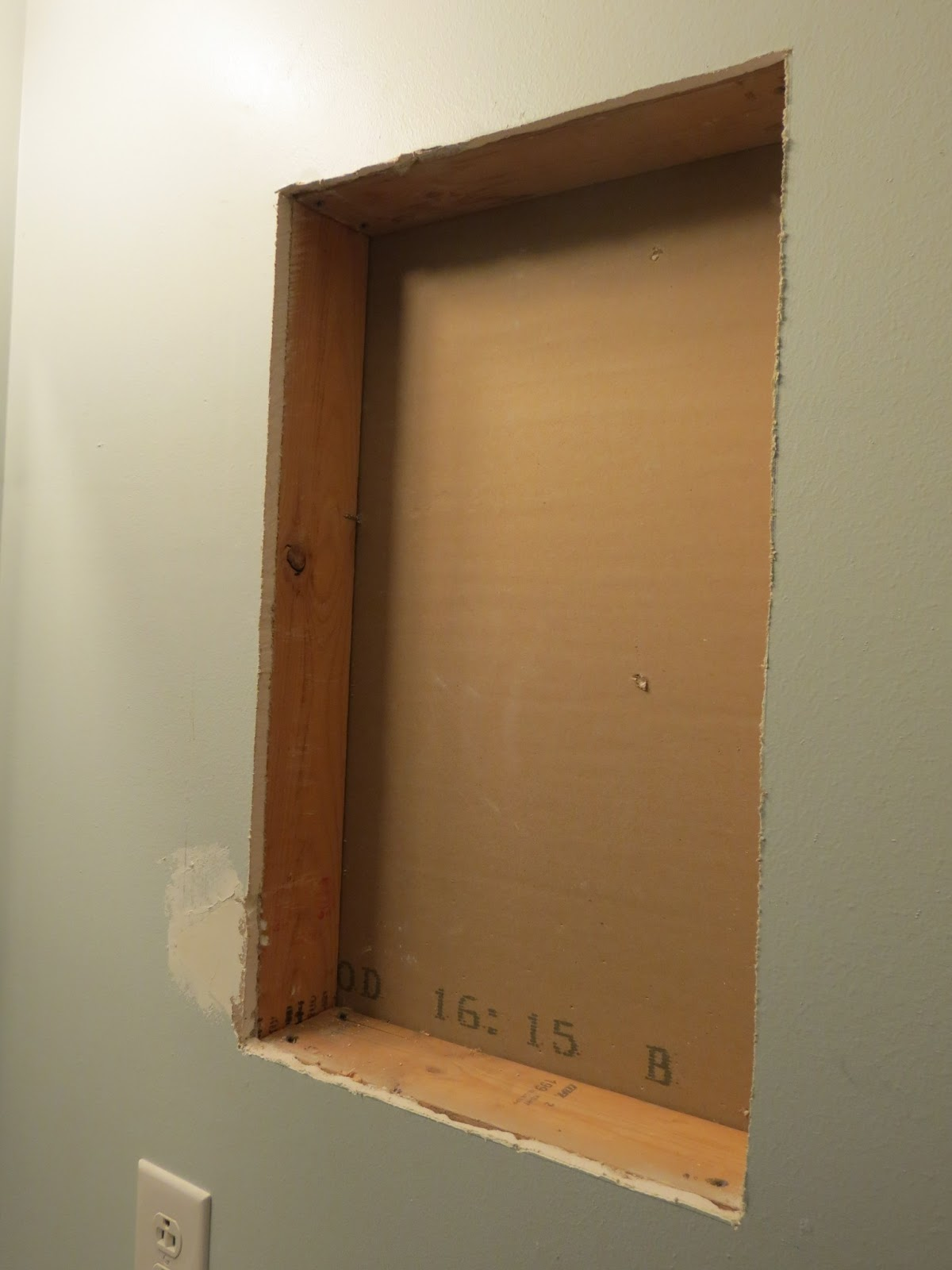 Here Diy recessed shelves Plan